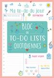 Editions 365 - Ma to-do list du jour - Bloc de to-do lists quotidiennes - Malin et pratique.