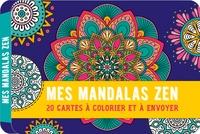 Editions 365 - Mes Mandalas Zen - 20 cartes à colorier et à envoyer.