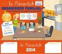Era-circus.be Organiseur familial Le Mémoniak 2013-2014 - Inclus 1 stylo magnétique, 10 magnets, 1 bloc-notes et 3 planches d'autocollants Image