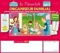 Editions 365 - Organiseur familial Le Mémoniak - De septembre 2016 à décembre 2017.