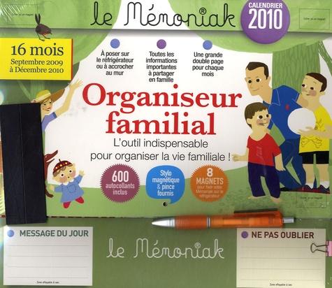 Editions 365 - Organiseur familial - Calendrier 2010.