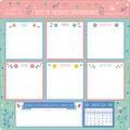 Editions 365 - Semainier 12 mois - 7 blocs de messages hebdomadaires.