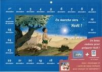 Editions aquar'ailes - En marche vers Noël ! - Avec un calendrier à fenêtres, un carnet de route, une enveloppe et une carte de voeux.