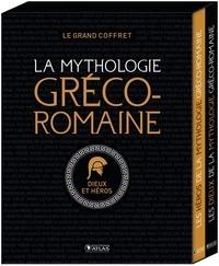 Editions Atlas - La mythologie gréco-romaine - Coffret en 2 volumes : Les dieux ; Les héros.