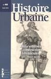 Vincent Demont et Vincent Meyzie - Histoire urbaine N° 40, Août 2014 : Elites urbaines et constructions territoriales (XVIe-XVIIIe siècles).