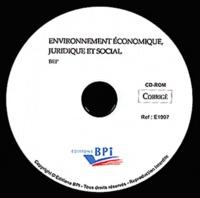 BEP Environnement Economique, Juridique et Social - Corrigé.pdf