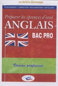 Préparer les épreuves doral Anglais BAC Pro - Version professeur, 1 CD.pdf