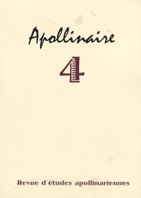 Jean Burgos et Pierre Caizergues - Apollinaire N° 4, Novembre 2008 : .