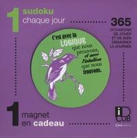 Editions Casa - 1 sudoku chaque jour - 365 occasions de jouer et de bien démarrer la journée. Avec 1 magnet en cadeau.