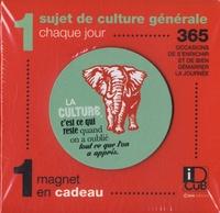 Editions Casa - 1 sujet de culture générale chaque jour - 365 occasions de s'enrichir et de bien démarrer la journée - Avec 1 magnet en cadeau.