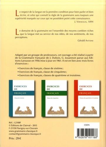 Grammaire francaise du XXIe siecle