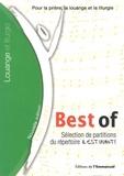 Editions de l'Emmanuel - Best of - Sélection de partitions du répertoire Il est vivant !.