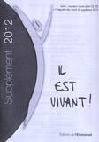 Editions de l'Emmanuel - Il est vivant ! - Supplément petit format 2012.