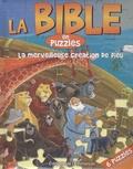 Editions de l'Emmanuel - La Bible en puzzles : La merveilleuse création de Dieu.