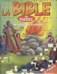 Editions de l'Emmanuel - La Bible en puzzles - Un peuple de croyants.