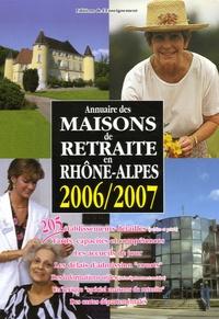 Editions de l'Enseignement - Annuaire des Maisons de retraite en Rhöne-Alpes.
