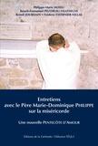 Editions de la Gelinotte - Entretiens avec le père Marie-Dominique Philippe sur la miséricorde - Une nouvelle Pentecôte d'Amour.
