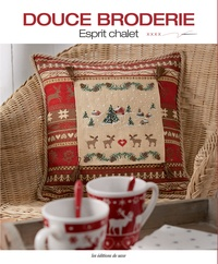 Editions de Saxe - Douce broderie - Esprit chalet.