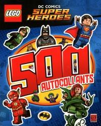 Editions de Tournon - Lego DC Comics Super Héros - 500 autocollants.