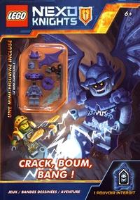Editions de Tournon - Lego Nexo Knights Crack, boum, bang ! - Avec une mini-figurine.