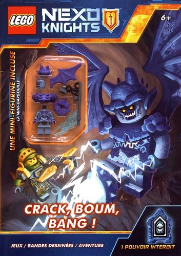 Lego Nexo Knights Crack, boum, bang !. Avec une mini-figurine