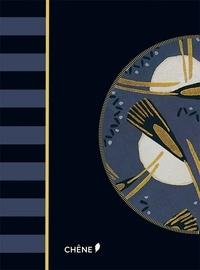 Editions du Chêne - Alibabette art déco bleu nuit.