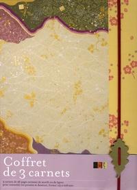 Editions du Chêne - Coffret de 3 carnets Japon.