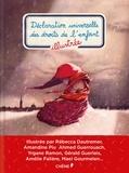 Editions du Chêne et Rébecca Dautremer - Déclaration universelle des droits de l'enfant illustrée.
