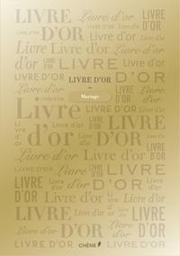 Editions du Chêne - Livre d'or - (Doré, petit format).