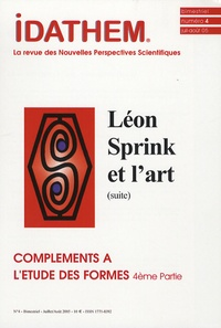 Vladimir Rosgnilk - Idathem N° 4 Juillet-Août 20 : Compléments à l'étude des formes - 4e partie, Léon prink et l'art (suite).