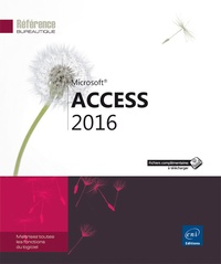 Editions ENI - Access 2016.