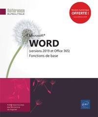 Editions ENI - Word (versions 2019 et Office 365) - Fonctions de base.