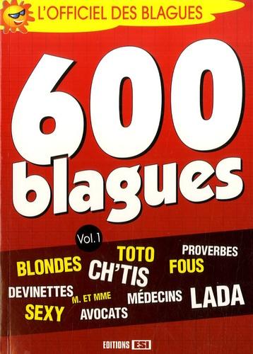 Editions ESI - 600 blagues - Volume 1.
