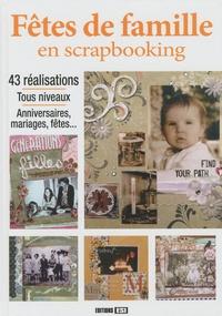 Editions ESI - Fêtes de famille en scrapbooking. 1 DVD