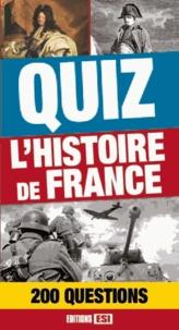 Editions ESI - Quiz L'histoire de France - 200 questions.