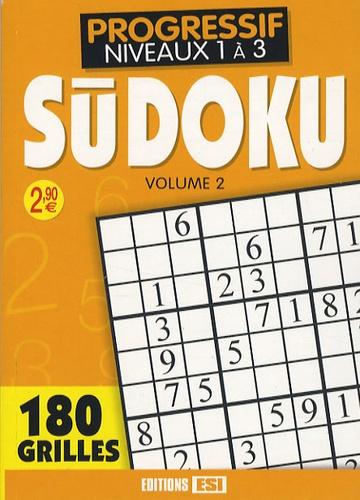 Editions ESI - Sudoku - Tome 2, Confirmé Niveau 2.