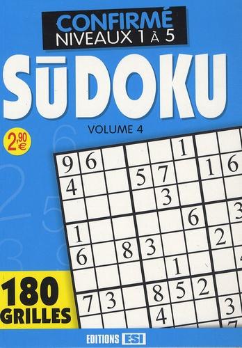 Editions ESI - Sudoku - Tome 4, Niveau confirmé.