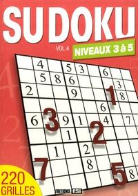 Editions ESI - Sudoku - Volume 4, Niveaux 3 à 5.