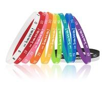 Editions Exalto - Lot de 10 bracelets aide-mémoire.