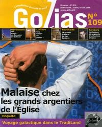 Christian Terras - Golias Magazine N° 109, Juillet-Août : Malaise chez les grands argentiers de l'Eglise.