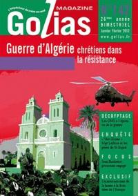 Christian Terras - Golias Magazine N° 142, Janvier-Févr : Guerre d'Algérie : des chrétiens pour l'indépendance.