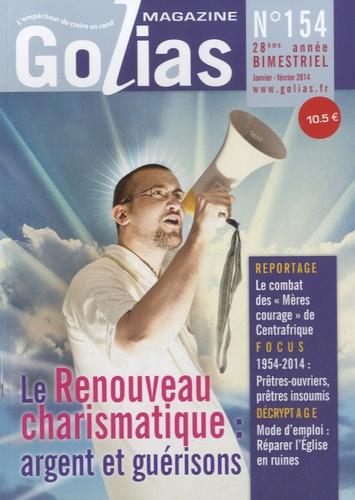 Christian Terras - Golias Magazine N° 154, janvier-févr : Le renouveau charismatique : argent et guérisons.