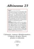 Marie-Hélène Servet - Albineana N° 23 : Calomnie, rumeur, désinformation : l'histoire du père Henri, jésuite sodomite.