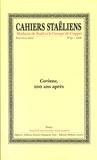 Société des études staëliennes - Cahiers staëliens N° 59/2008 : Corinne, 200 ans après.