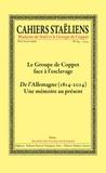 Société des études staëliennes - Cahiers staëliens N° 64/2014 : Le Groupe de Coppet face à l'esclavage.