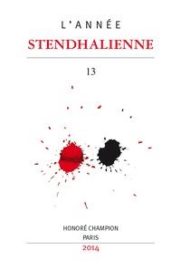 Marie Parmentier - L'Année Stendhalienne N° 13/2014 : Racine et Shakespeare.