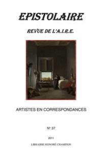 Geneviève Haroche-Bouzinac - Revue de l'Aire N° 37 : Artistes en correspondances.