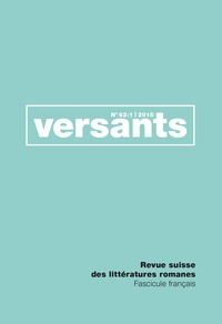 Hélène Merlin-Kajman - Versants N° 62-1/2015 : Transitions.