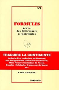 Henry Gil et  Collectif - Formules N° 2/1998-1999 : .
