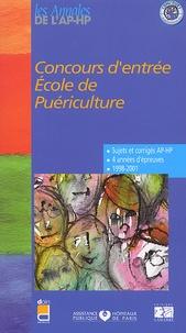 Deedr.fr Concours d'entrée Ecole de Puériculture. Epreuves de sélection 1998-2001 Image
